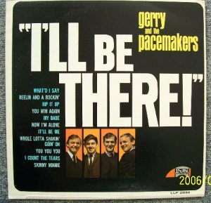 GERRY and the PACEMAKERS I'll be There MONO Vintage Vinyl Record