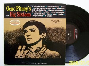 Gene Pitney More Big Sixteen Vol 2  MONO Musicor Vintage Vinyl record EX NM