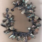 Abalone Shell Handcrafted 16 1/2 inch Choker