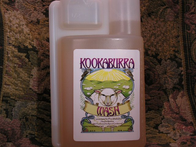 KOOKABURRA WOOL WASH WITH TEA TREE AND LANOLIN~SHIPS FREE IN US