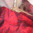 Japanese Maple~Fat Quarter Yard~Hand Dyed Rug Hooking Wool With Lanolin~ShornSheep