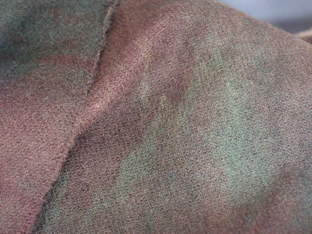 Olde Leather Books~Fat Quarter Yard~Hand Dyed Wool with Lanolin~ShornSheep