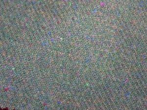 TWEED NO.9 - 100% wool fabric - MOSS & DOTS Tweed - off the bolt - 5 yards - Shorn Sheep Wools