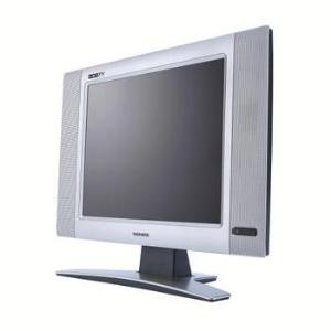 "Magnavox 15"" HD-Ready LCD TV with HD Component Video and PC Inputs"