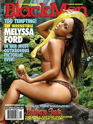 BlackMen Magazine: Melyssa Ford