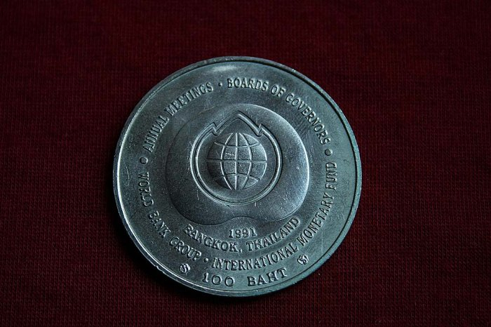 World Bank Group Coin 100 Baht, Thailand
