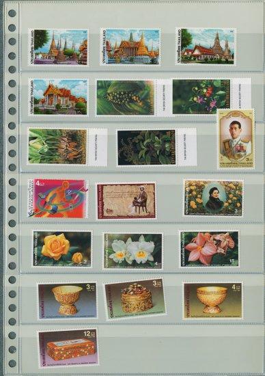Thailand 8 Different MNH Complete Sets 2001-2002/19pcs