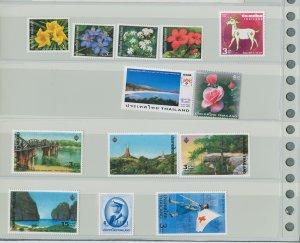 Thailand 7 Different MNH Complete Sets 2002-13pcs