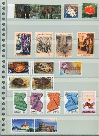 Thailand 9 Different MNH Complete Sets 2003/2004-20pcs