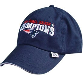 NEW ENGLAND PATRIOTS FOOTBALL SUPER BOWL XXXIX HAT CAP NEW