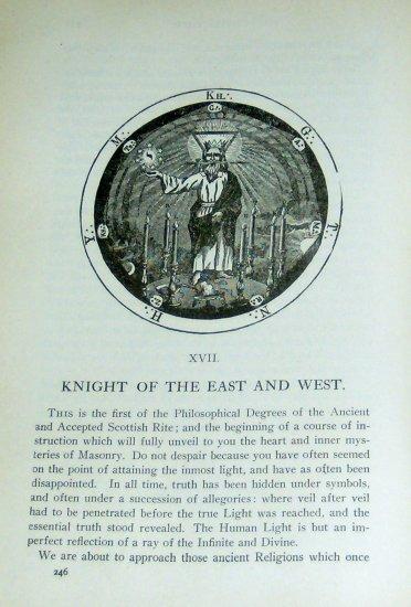 1905 Morals Dogma of Freemasonry Supercool