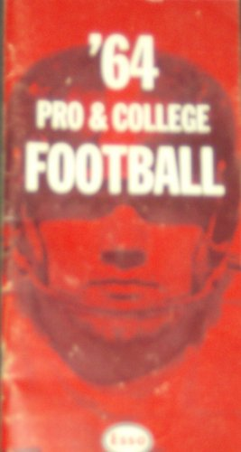 1964 Esso Pro College Football Handbook