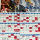 1996-1997 Washington Bullets Magnet Schedule