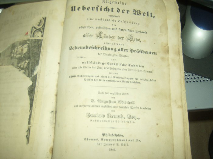 Rare 1846 German History Book TONS of ART Etchings Engravings