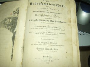 Rare 1846 German History Book TONS of ART Etchings Engravings