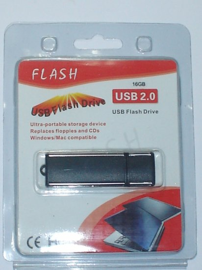 USB FLASH DRIVE 2.0  16GB