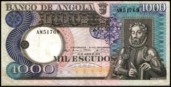 ANGOLA - 1000 ESCUDOS 1973