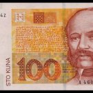 CROATIA - 100 KUNA 2001, Pick 41, UNCIRKULATED
