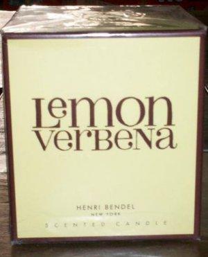 HENRI BENDEL Candle LEMON VERBENA Bath & Body Works scented - burns 60 hours!