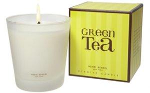 HENRI BENDEL Scented Candle GREEN TEA  - burns 60 hour