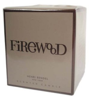 HENRI BENDEL Candle FIREWOOD  scented RETIRED - burns 60 hours!