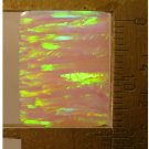 Pink lab created opal cabochon, 20X15.5mm rectangle