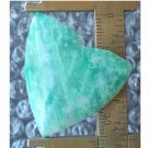 Amazonite cabochon, 32X32mm freeform