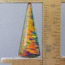 dark lab created opal cabochon, 26.2X10.9mm freeform drop