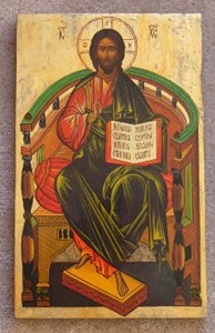 Icon of Christ Enthroned