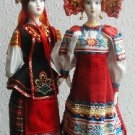 Ukrainian and Russian Ceramic Dolls