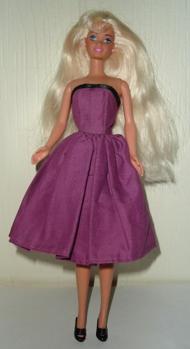 Barbie Doll Type Dress Purple