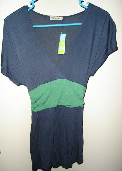 Forever 21 Empire V-Neck shirt