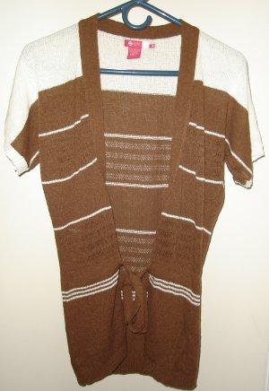 Split Knitted Cardigan Wrap Sweater