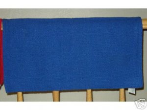 Mayatex Western Saddle Blanket Royal Blue