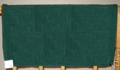 Mayatex Western Saddle Blanket Hunter Green