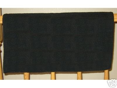Mayatex Western Saddle Pad Blanket Black 36x34