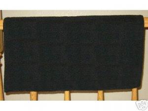Mayatex Western Saddle Pad Blanket Black 36x34