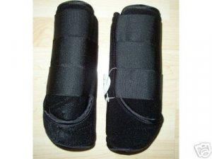 NEW Black Sports Medicine Boots SMB Large Horse Tack