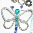 Butterfly Pin Teal/Multi