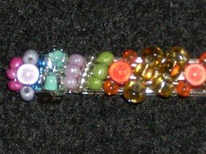 Multicolor Shimmering Barrette