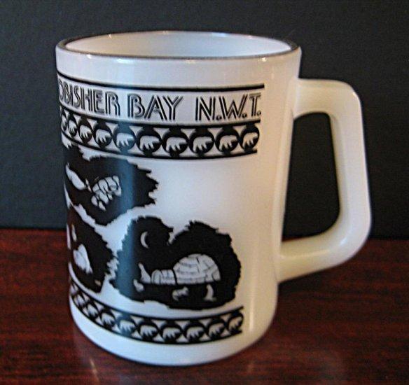 Collectible Federal Glass Mug - Frobisher Bay N.W.T. Canada