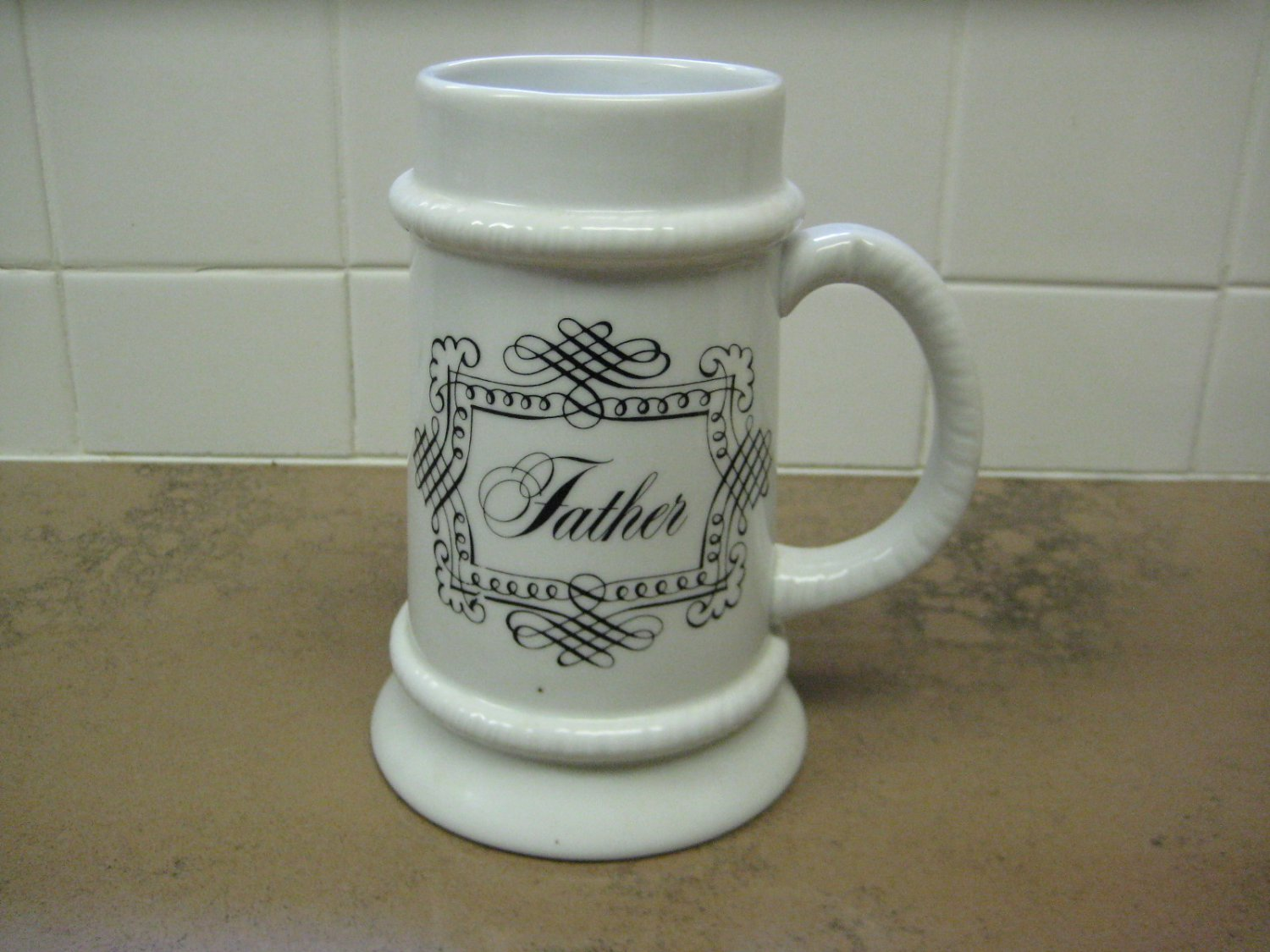 "House of Goebel Bavaria W. Germany ""Father"" Beer Stein"