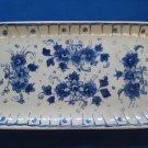 1963 De Porceleyne Fles Royal Delft Large Rectangular Dish Tray