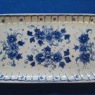 1963 De Porceleyne Fles Royal Delft Large Rectangular Dish Tray