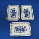 3 De Porceleyne Fles Royal Delft  Small Sweet Dishes