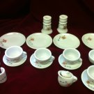 20 pc Child's Strombecker Corp. Partial Tea Set