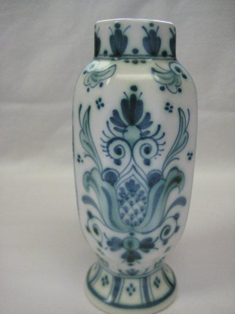 1968 Royal Delft De Porceleyne Fles Delvert Blue-Green Vase