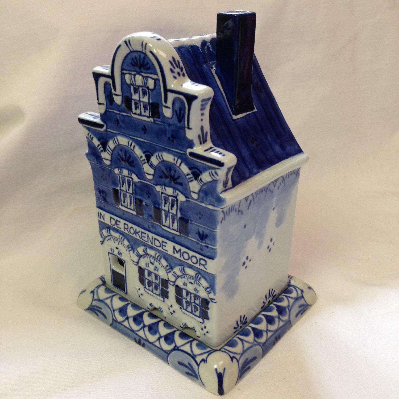 "Koninklijke Royal Delft De Porceleyne Fles Incense Burner ""In De Rokende Moor"""