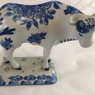 1964 De Porceleyne Fles Royal Delft Blue & White Bull Cow