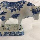 1964 De Porceleyne Fles Royal Delft Blue & White Bull Cow